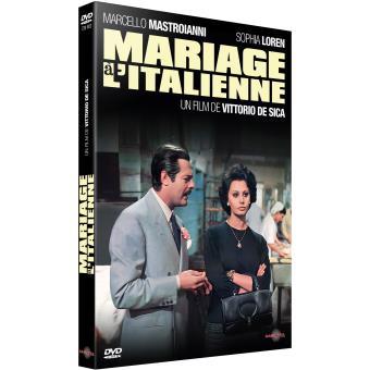 Mariage à l'italienne DVD