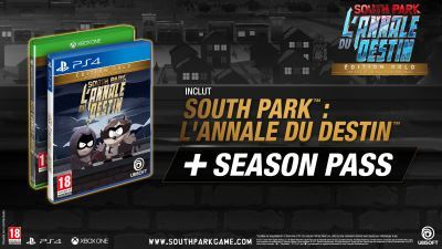 South Park L'Annale du Destin Edition Gold PS4
