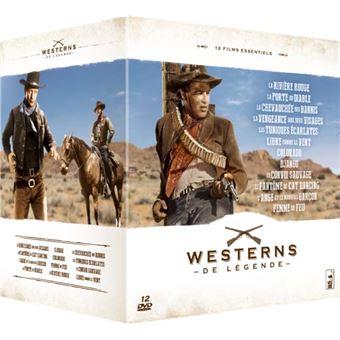 Coffret Légendes du western 12 films DVD
