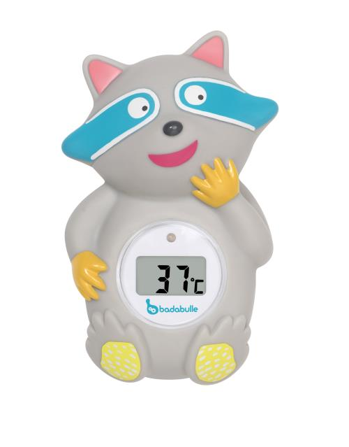Thermomètre de bain Badabulle Racoon