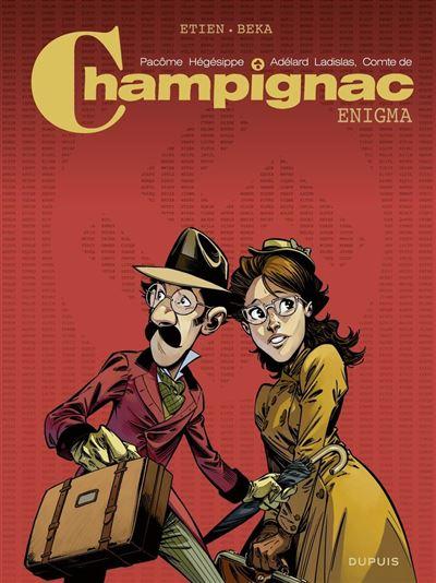 Champignac - Enigma - 9791034739073 - 8,99 €