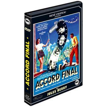 Accord final DVD
