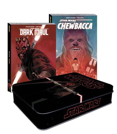 Coffret métal Star Wars : Dark Maul et Chewbacca