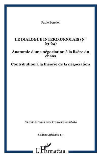 Le dialogue intercongolais