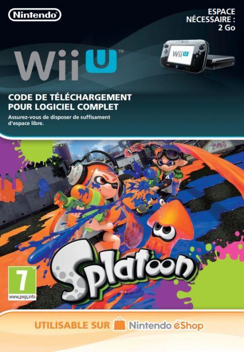 Code de téléchargement Splatoon Nintendo Wii U