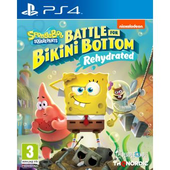 Spongebob SquarePants : Battle for Bikini Bottom Rehydrated PS4