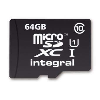carte mémoire micro sd 64 go Carte mémoire Integral Micro SDXC 64 Go Class10   Carte mémoire