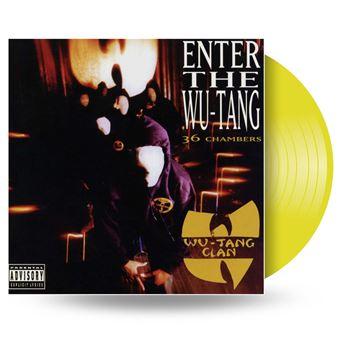Enter The Wu Tang Clan Vinyle Jaune Exclusivit 233 Fnac Wu