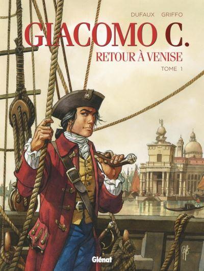 Giacomo C - Retour à Venise - Tome 01 - Retour à Venise - 9782331035012 - 8,99 €