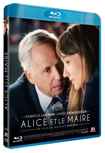 blu-ray du film Alice et le maire