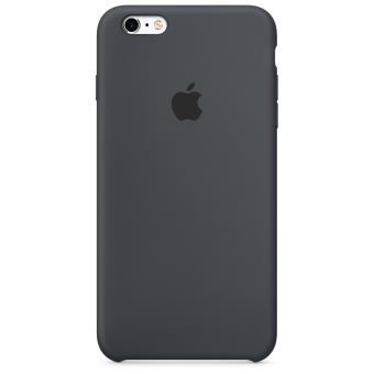 Coque Apple pour iPhone 6s Plus en silicone Noire