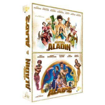 Coffret Les nouvelles aventures d'Aladin et Alad'2 DVD