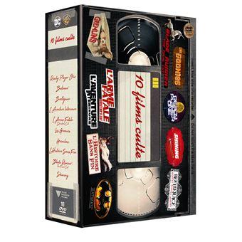 Coffret 10 Films Cultes DVD