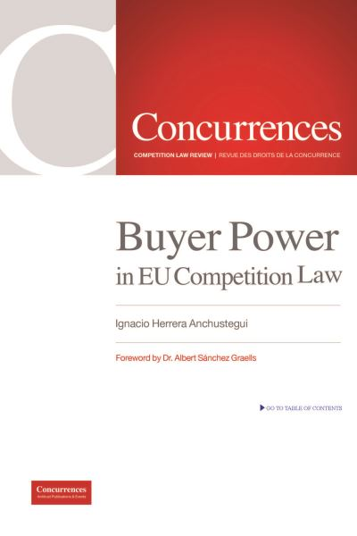 Buyer Power in EU Competition Law