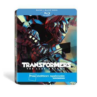 TransformersTransformers The Last Knight Edition spéciale Fnac Steelbook Blu-ray