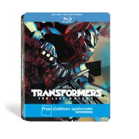 Transformers The Last Knight Steelbook Edition spéciale Fnac Blu-ray