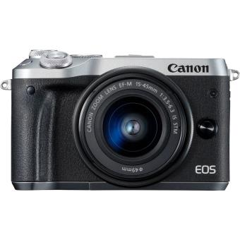 CANON EOS M6 + 15-45MM KIT SILVER