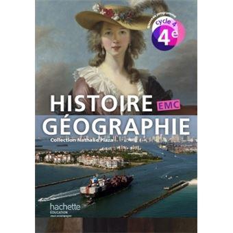 Histoire-Géographie-EMC cycle 4 / 4e - Livre élève - éd. 2016 Livre de l'élève, Edition 2016