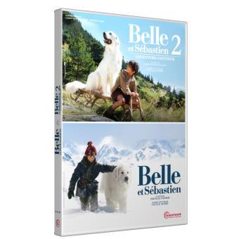 Belle et SébastienCoffret Belle et Sébastien 2 films DVD
