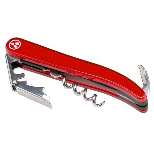 Couteau sommelier Laguiole Evolution Tarrerias Bonjean Rouge