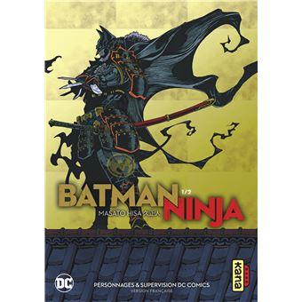 couverture manga batman ninja