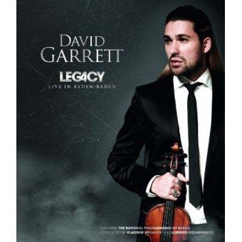 David Garrett Legacy Live in Baden Baden Blu-ray