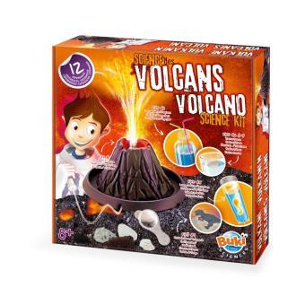Coffret scientifique La Science des volcans Buki France