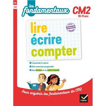 Lire, écrire, compter CM2