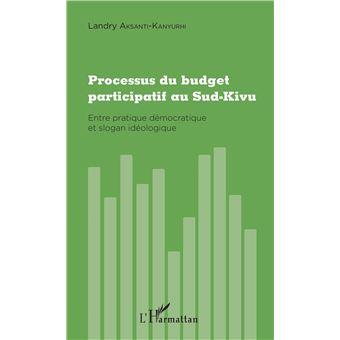 Processus du budget participatif au sud-kivu entre pratique