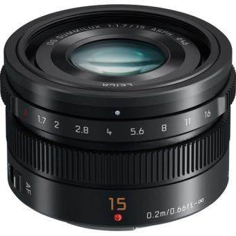 Panasonic Leica DG Summilux 15mm f/1.7 ASPH. Hybride Lens