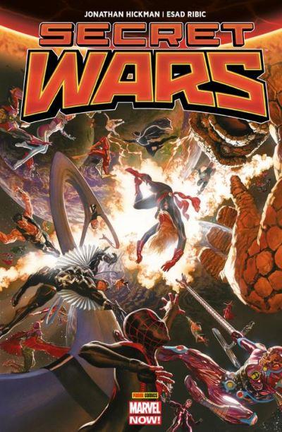 Secret Wars - La fin des temps - 9782809468236 - 15,99 €
