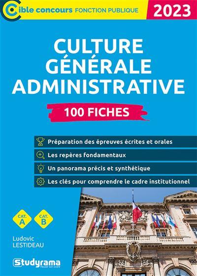 Culture générale administrative 2020