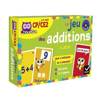 Le Jeu Des Additions Coffret Lucie Domergue Muriel Iribarne