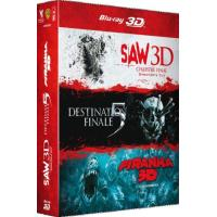 Saw VII : Chapitre final - Destination finale 5 - Piranha Coffret Combo Blu-Ray 3D