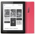Liseuse numérique Kobo by Fnac Aura, Noir/Rose