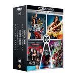Coffret DC Comics 5 films Blu-ray 4K Ultra HD