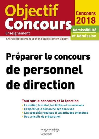 Préparer le concours de personnel de direction - 9782013201698 - 14,99 €