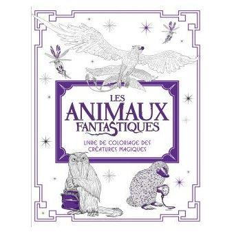 Coloriage Adulte Animaux Fantastiques.Les Animaux Fantastiques Livre De Coloriage Des Creatures Magiques