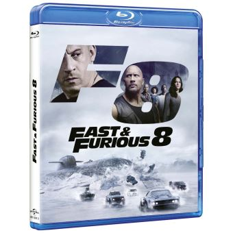 Fast And FuriousFast and Furious 8 Blu-ray