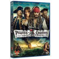 Pirates des Caraïbes La fontaine de jouvence DVD