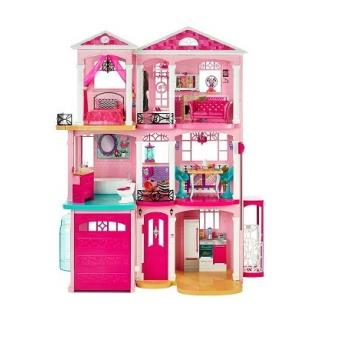 maison de r ve barbie maison de poup e achat prix fnac. Black Bedroom Furniture Sets. Home Design Ideas
