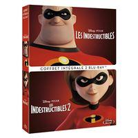 Les Indestructibles 1 et 2 Coffret Blu-ray