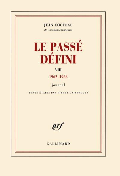 Le Passé défini (Tome 8-(1962-1963))