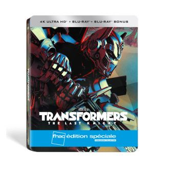 TransformersTransformers The Last Knight Edition spéciale Fnac Steelbook  Blu-ray 4K + 2D