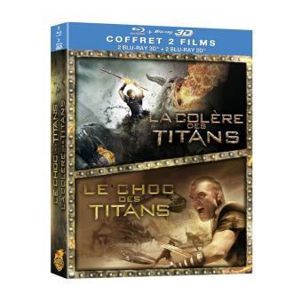 Le choc des Titans - La colère des Titans - Coffret Combo Blu-Ray 3D