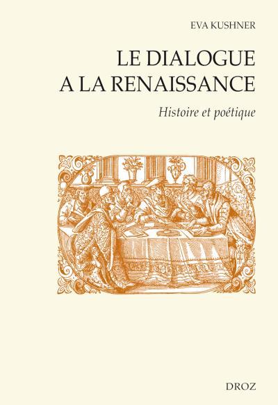 Le dialogue à la Renaissance
