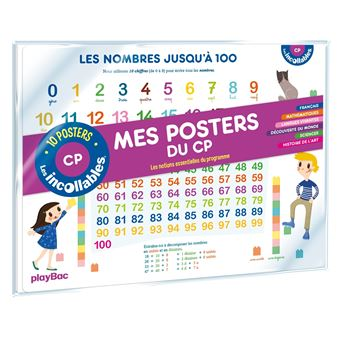 Les incollablesMes posters du primaire CP Cycle 2