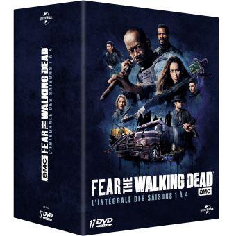 Fear the walking deadCoffret Fear the Walking Dead Saisons 1 à 4 DVD