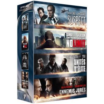 Coffret Stars de l'action DVD