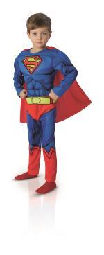 Déguisement luxe comic Superman 7/8 ans